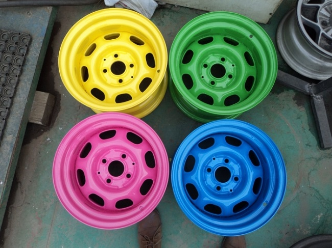цветные диски