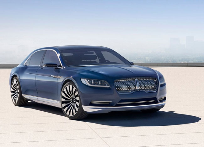 Обзор автомобиля Lincoln Continental