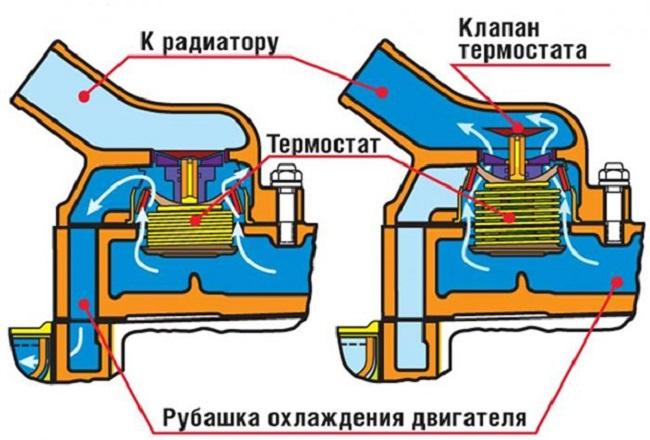 устройство термостата