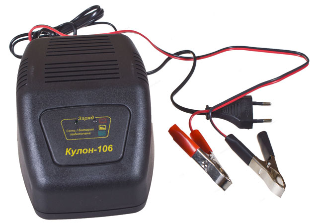 Импульсное зарядное устройство Кулон