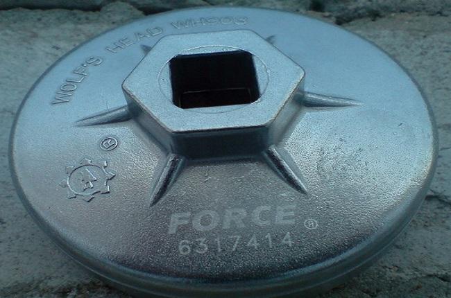 Съемник фильтра типа чашка