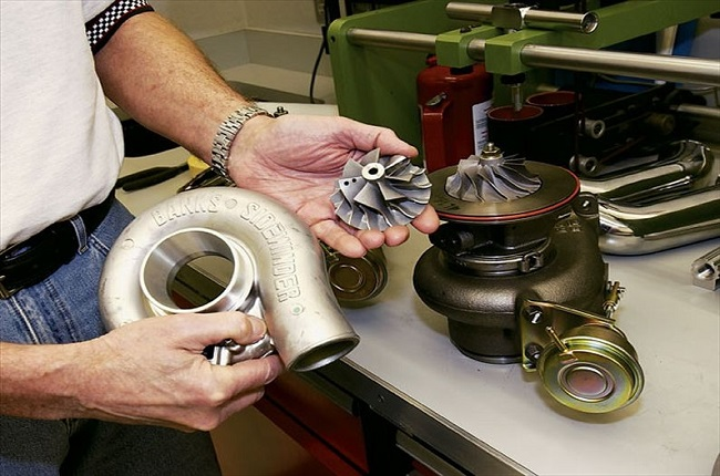 Турбина для поднятия мощности двигателя