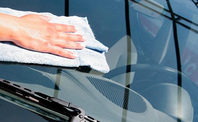 Подготовительные процедуры для шлифования автостекла