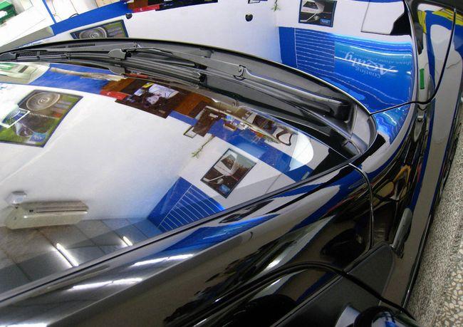 Жидкое стекло на автомобиле