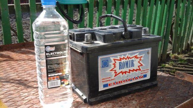 Электролит и аккумулятор