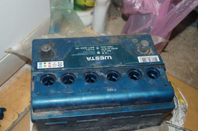 Электролит в аккумуляторе