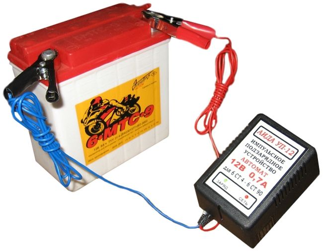 Востановка уровня зарядки аккумулятора