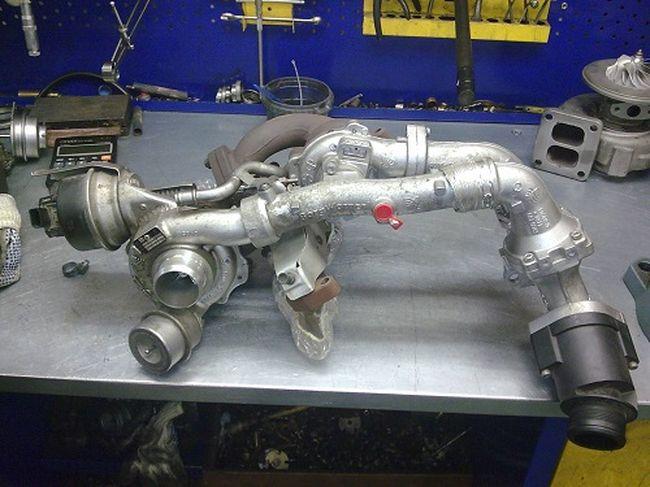 Фото ремонта турбины авто