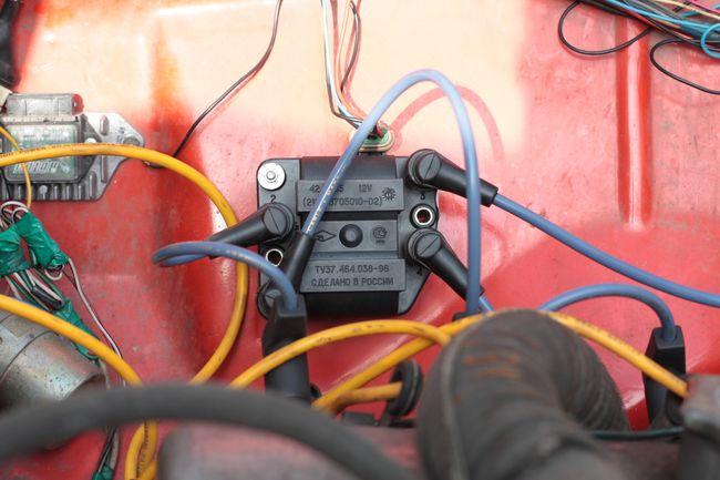 Модуль зажигания в работе