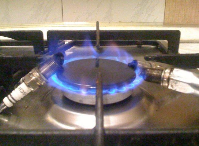 Обжиг свечей зажигания на газу