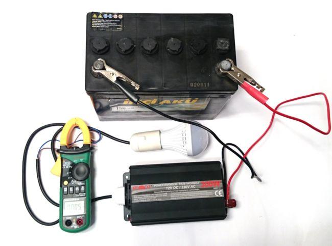 проверка работоспособности аккумулятора