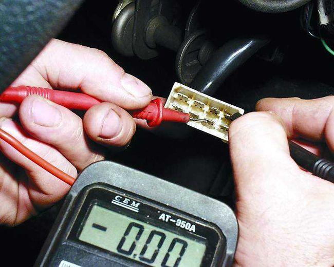 Проверка замка зажигания мультиметром