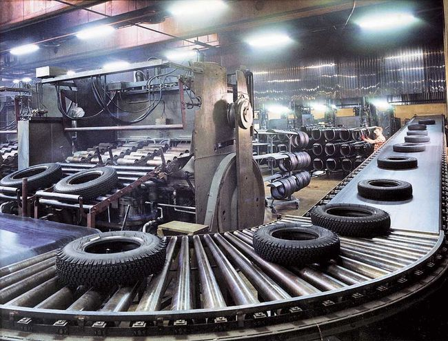 Производство шин нокиан