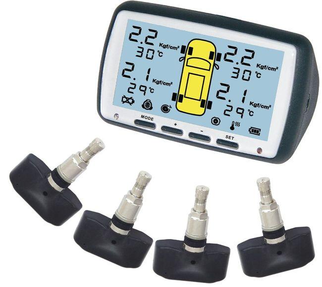 система измерения давления в шинах