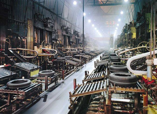 Завод по производству шин