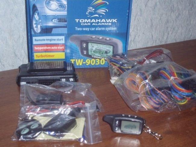 Сигнализация Томагавк 9030 — подробный обзор, инструкция по эксплуатации