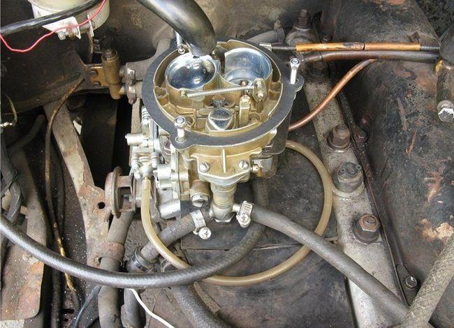 Карбюратор 406 двигателя