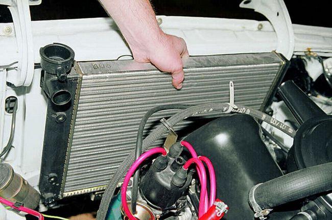 Автомобильный радиатор