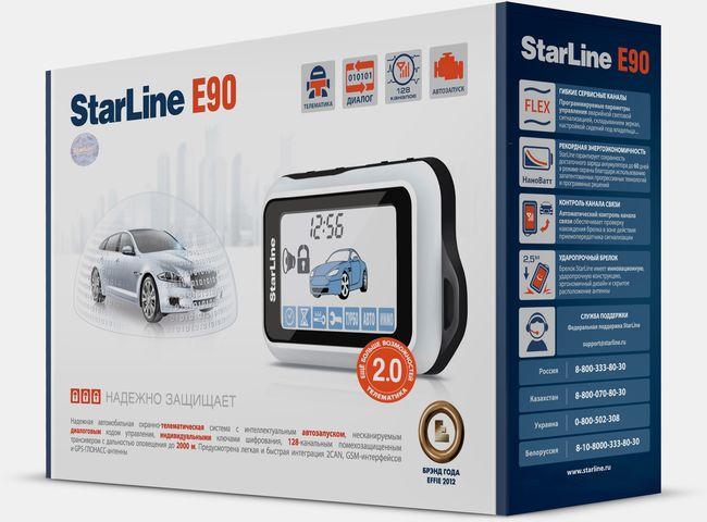 Сигнализация Старлайн Е90 — инструкция по эксплуатации, подробный обзор