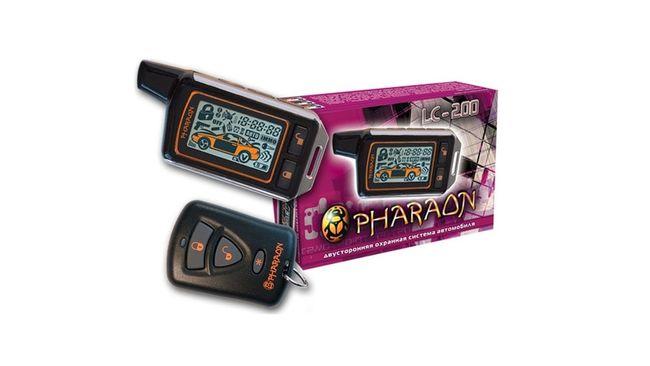 сигнализация фараон лц 200
