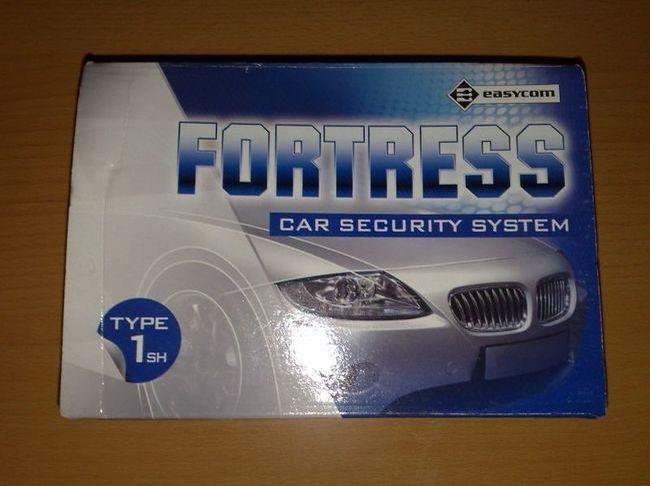 Коробка с автосигнализацией Фортресс