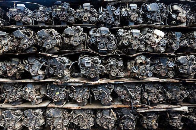 Склад двигателей