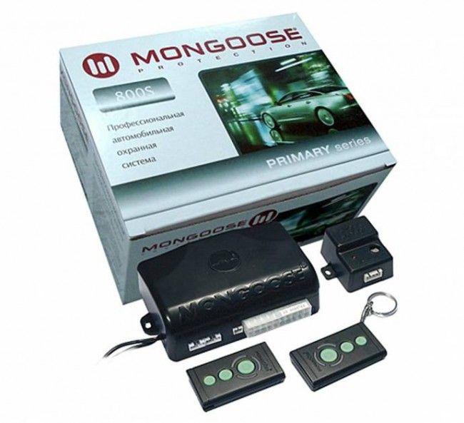 mongoos 800 - Схема подключения сигнализации мангуст на ваз 2110