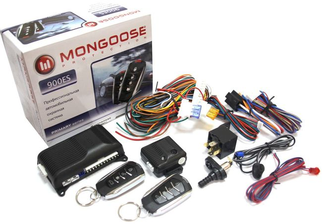 mongoose 900 - Схема подключения сигнализации мангуст на ваз 2110