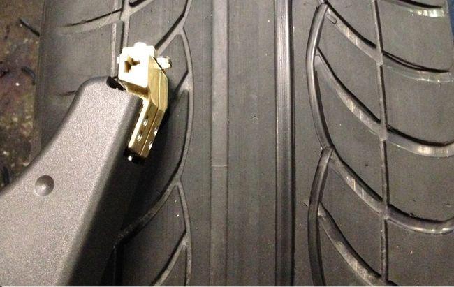 Нарезка протектора на шине