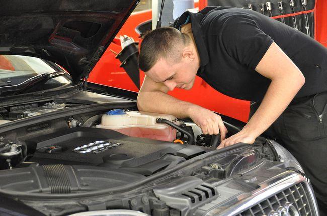Осмотр двигателя перед покупкой автомобиля