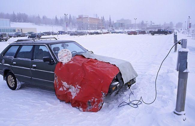 Подогрев дизеля зимой