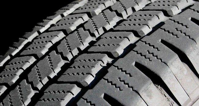 протектор шины крупно