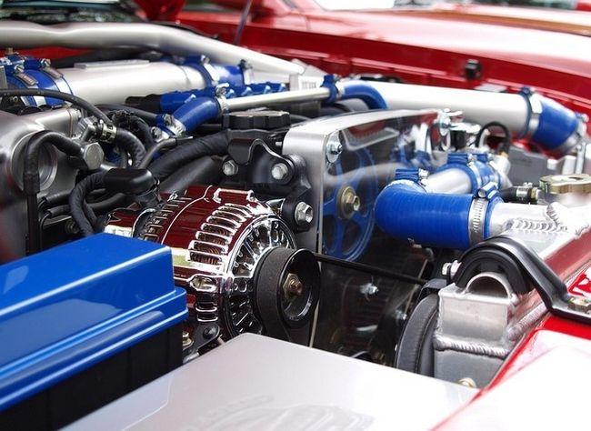 Тюнингованный двигатель