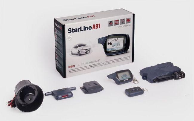 Сигнализация Старлайн А91 — подробный обзор и инструкция по эксплуатации