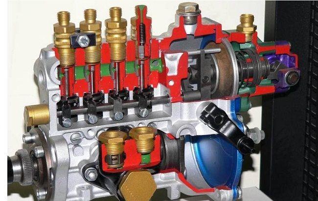 Топливный насос дизельного двигателя