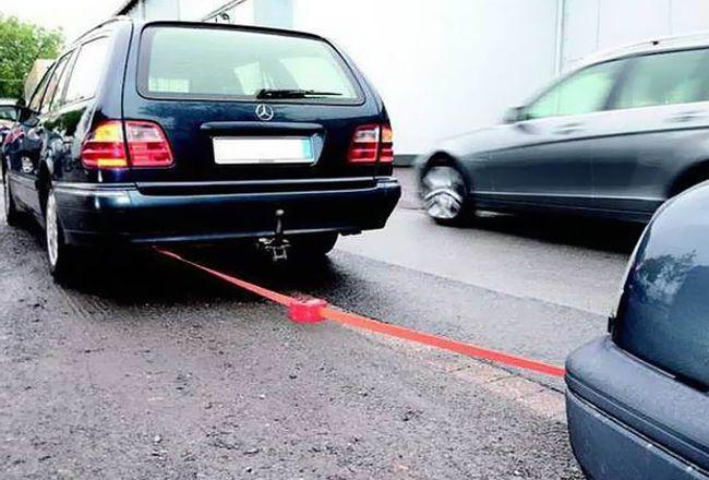 Буксировка авто