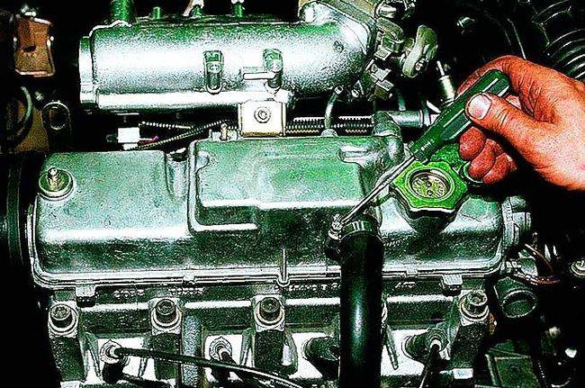 Сапун в двигателе