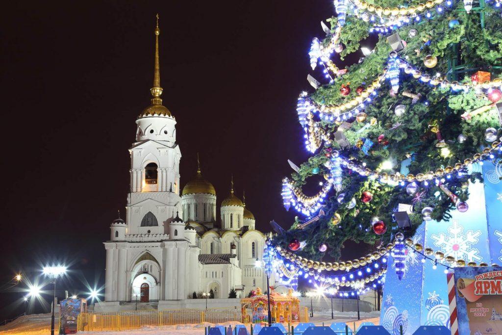 Новый год с детьми во Владимире