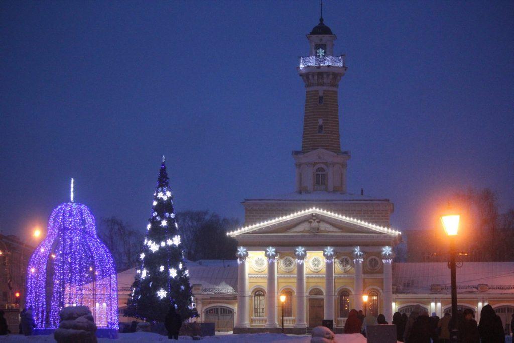 Новый год с детьми в Костроме