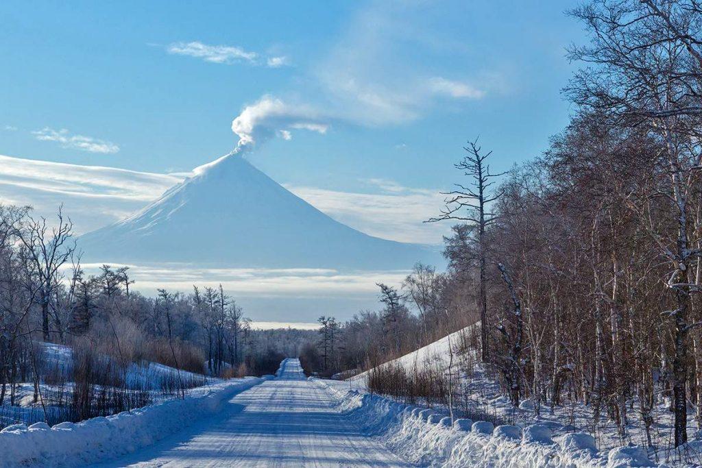 Активный отдых зимой на Камчатке