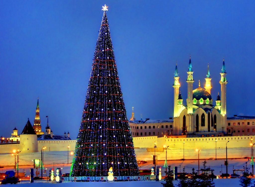 поехать в Казань на Новый год