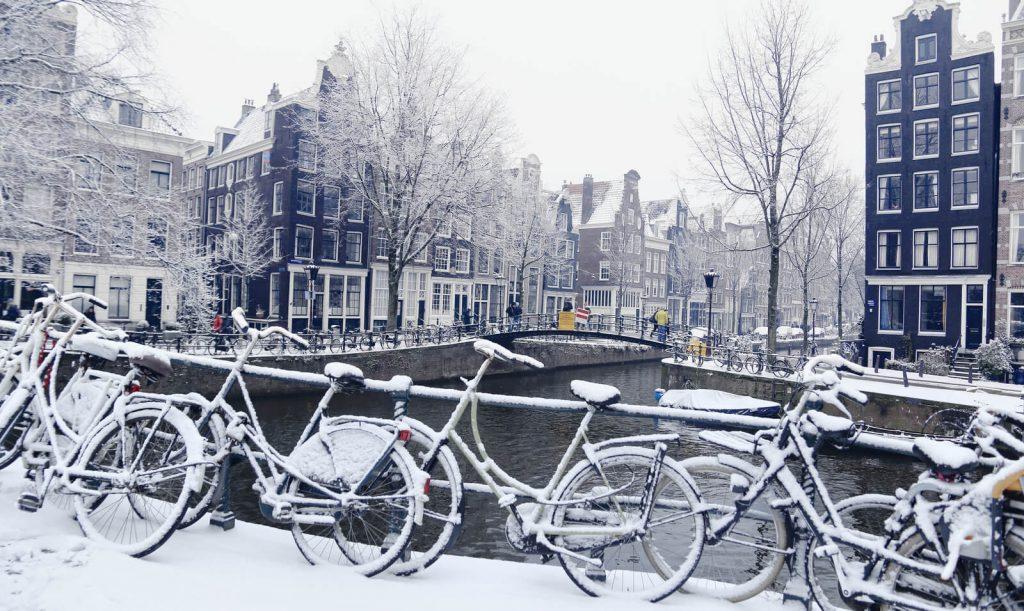 самые красивые зимние города